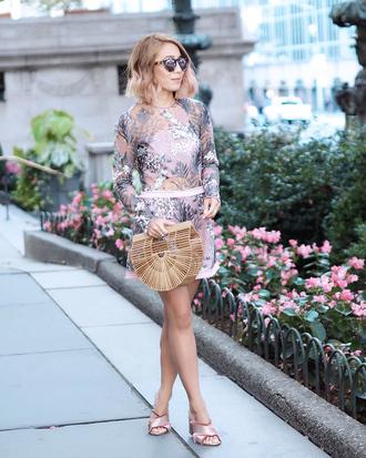 laminlouboutins blogger romper top bag shoes jewels sunglasses cult gaia bag sandals fall outfits