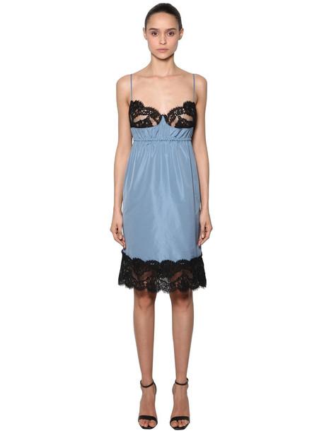 dress lingerie dress lace light blue light blue