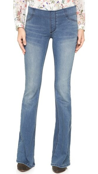 jeans flare jeans flare grass blue
