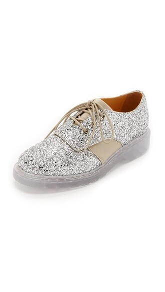 oxfords silver taupe shoes