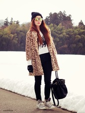 xoxo hilamee,coat,sweater,pants,shoes,bag,hat,sunglasses