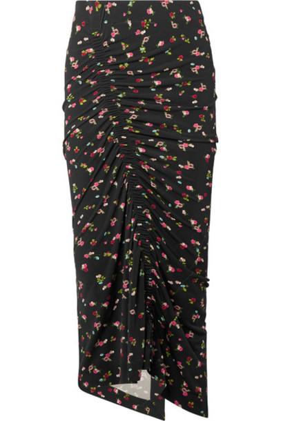 PREEN BY THORNTON BREGAZZI skirt midi skirt midi floral print black
