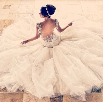 dress bridal gown princess wedding dresses couture wedding dress wedding clothes jewels jeweled dress gorgeous