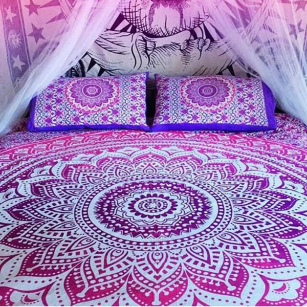 Amazoncom Mandala Tapestries Hippy Hippie Wall Hanging