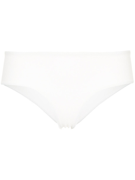 MATTEAU bikini bikini bottoms women spandex white swimwear