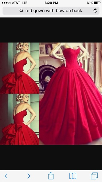 dress princess dress red dress vintage dress ball gown dress wedding formal