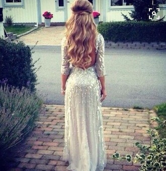 dress prom dress white dress sparkly dress maxi dress prom gown prom long prom dress backless prom dress white prom dress