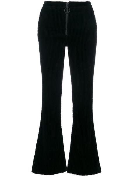 Off-White women cotton blue pants
