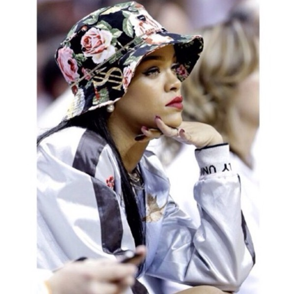 rihanna bucket hat hat