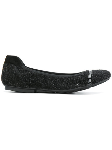 glitter women pumps leather black shoes
