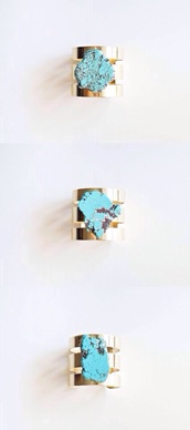 jewels,turquoise,turquoise jewelry,ring,gold,gold ring,turquoise ring