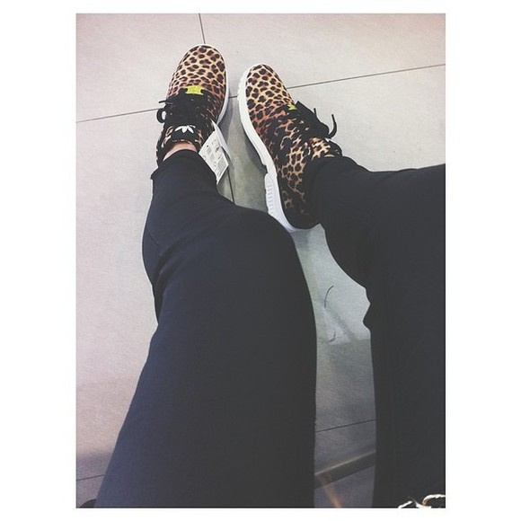 shoes leopard print animal print sneakers adidas hot