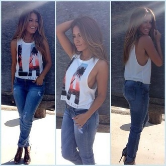 t-shirt los angeles california l.a. tumblr girl weheartit instagram