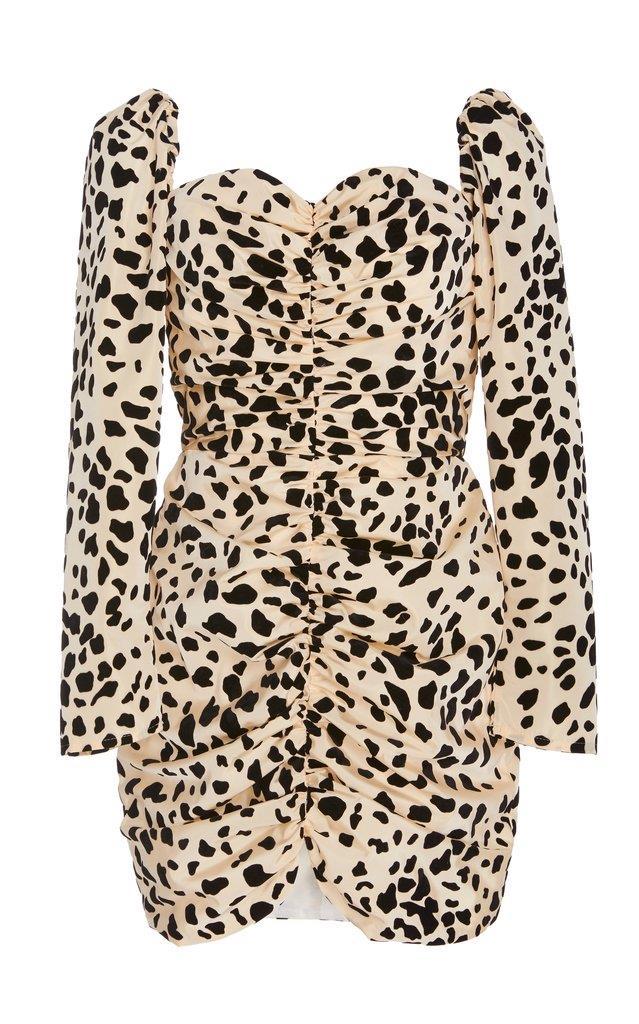 In Stock: Love Hangover Dalmation Print Mini Dress