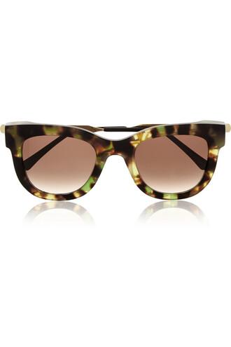 sunglasses gold black