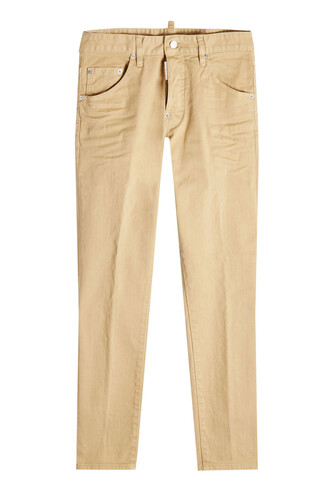 pants cotton beige