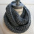 Best selling Items Chain Scarf Grey Knit Infinity Scarf Best Selling Shops Items Christmas Gifts Guide - By PIYOYO