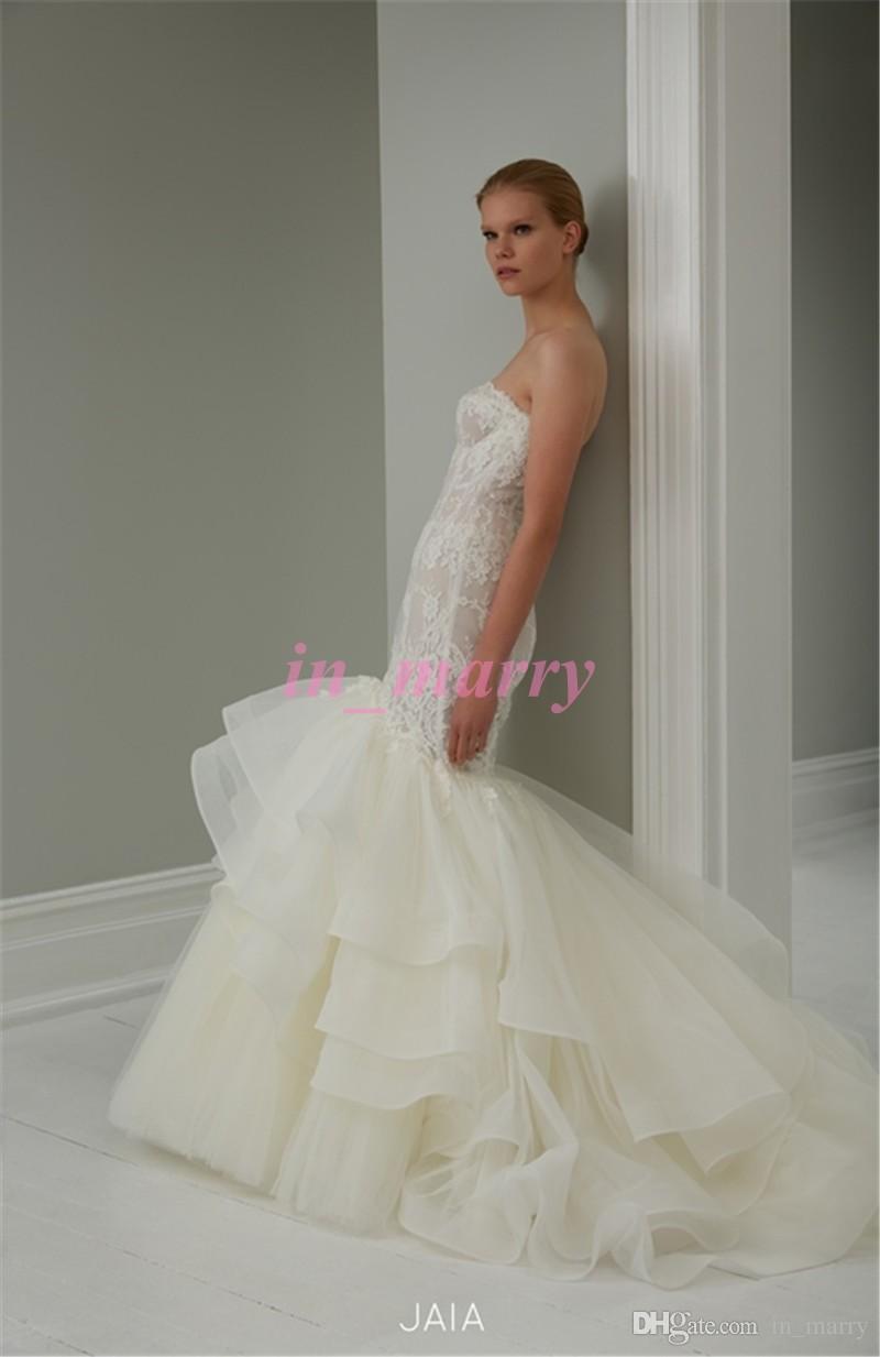 White dress for church - Steven Khalil Mermaid Wedding Dresses 2015 Vinatge Lace Sweetheart Plus Size Princess Trumpet Wedding Gowns Church White