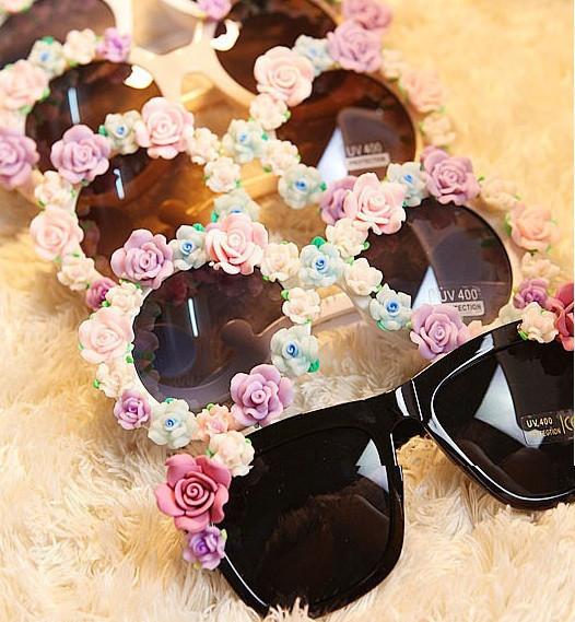 Gardenia Baroque Sunglasses- Black – Glamzelle