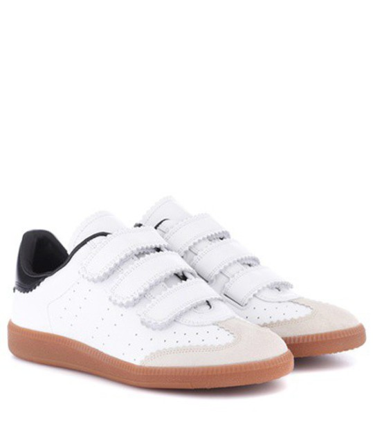Isabel Marant sneakers leather white shoes