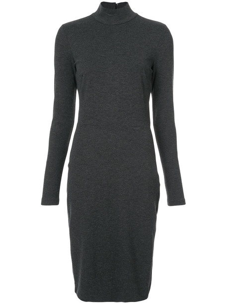 Fleur du Mal dress long women spandex black knit