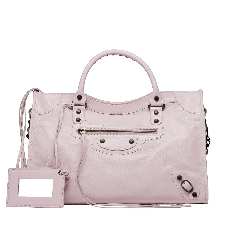 Balenciaga classic city powder pink