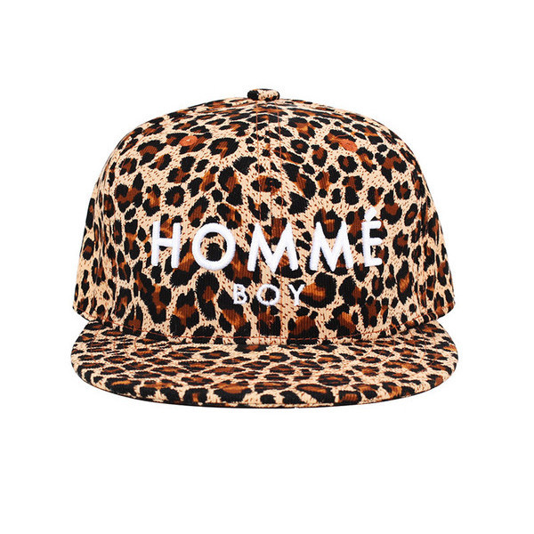 Your Homme Boy Leopard Hat | Vanity Row