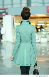 coat,jacket,mint