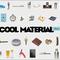 Cool material shop