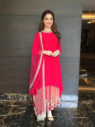 dress tamannah bhatia indian dress