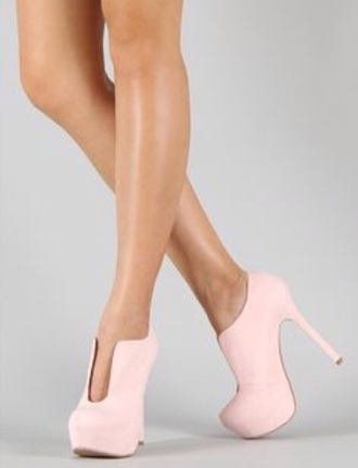 shoes light pink boots ankle boots