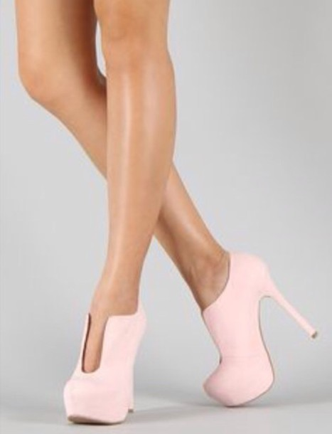 Light Pink Ankle Boots Shoes Light Pink Boots Ankle