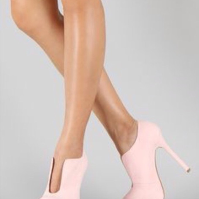 Light Pink Ankle Boots Shoes Ankle Boots Boots Light