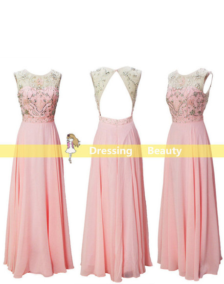 pink dress summer dress homecoming dress prom dress summer dress, beach dress, maxi dress, dropped waist, cotton dresss, cotton rib, knitwear long prom dresses