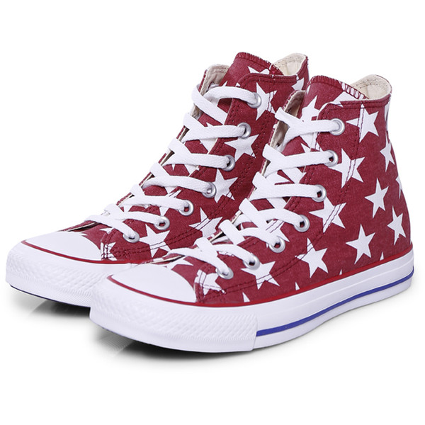 Converse Sneakers Classic Red Stars - Polyvore