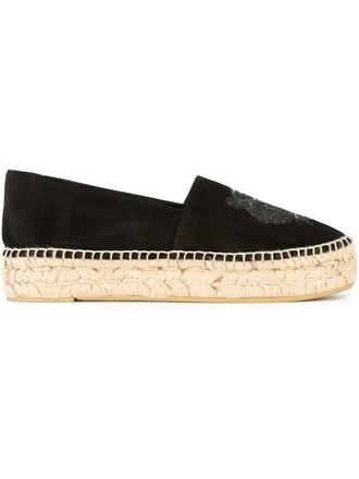 tiger espadrilles black shoes