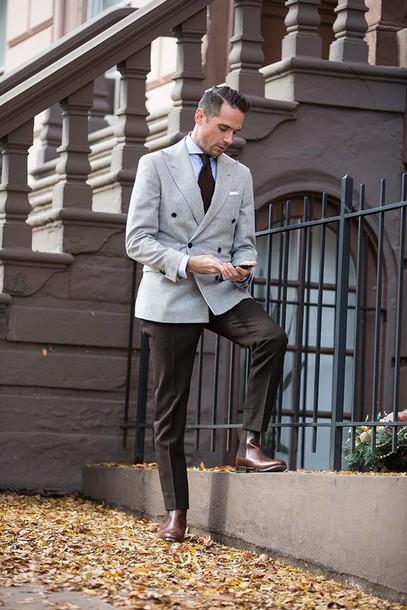 he spoke style blogger jacket shirt pants jewels shoes