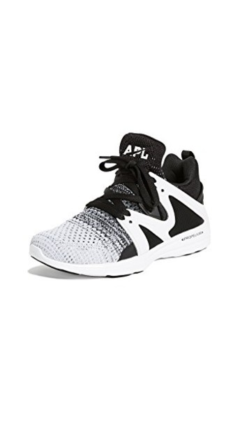 APL: Athletic Propulsion Labs sneakers white black grey heather grey shoes