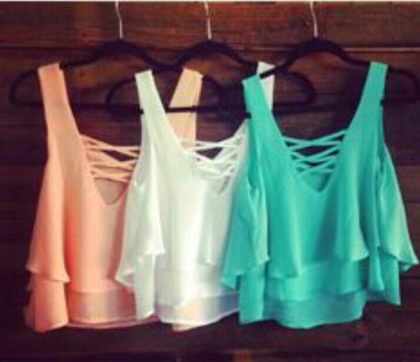 blouse crop tops