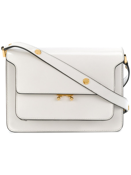 MARNI women bag shoulder bag leather white
