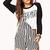 City-Chic Striped Shortalls | FOREVER21 - 2000051832