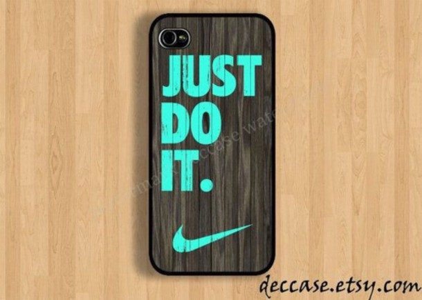 home accessory phone phone cover phone cover nike just do it