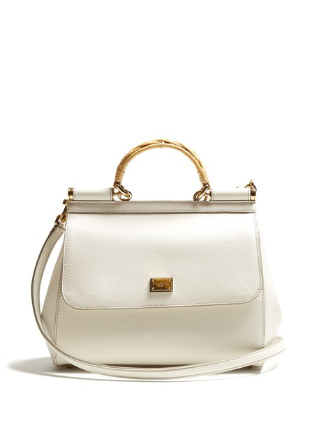 Dolce & Gabbana bag leather bag leather white