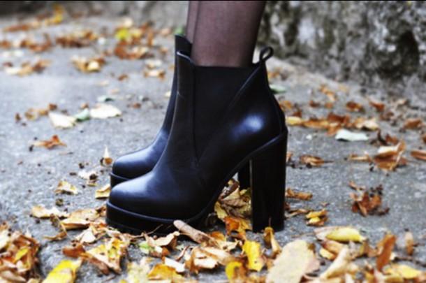 shoes, boots, heels, high heels, black, black heels, black ...