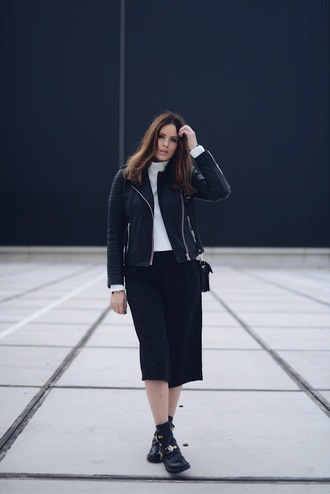 moderosa blogger jacket shoes bag