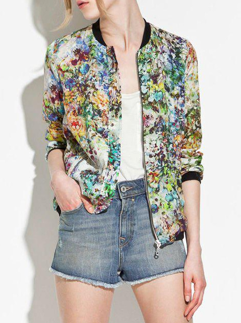 Chic floral jacket · fashion struck · online store powered by storenvy