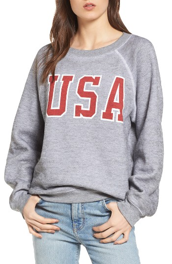 Wildfox Baggy Beach Jumper - USA Pullover  5b08785cbbf0
