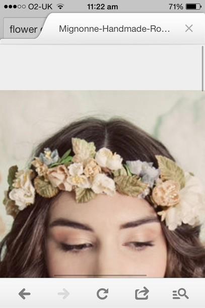 hat flower crown