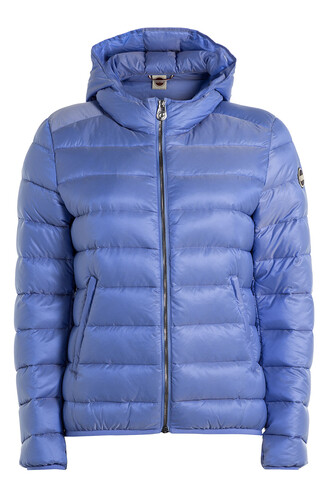 jacket down jacket quilted blue