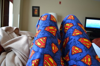 superman nightwear pajamas